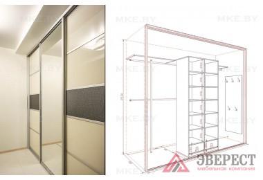 Шкаф купе 12