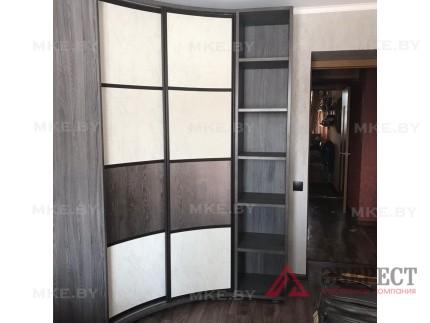 Радиусный шкаф-купе 12
