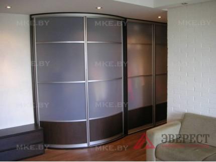Радиусный шкаф-купе 5