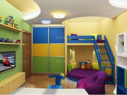 Шкаф-купе в детскую 9