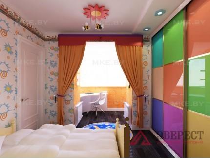 Шкаф-купе в спальню 12
