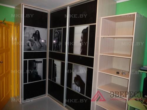Шкаф-купе с фотопечатью 1