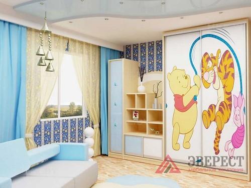 Шкаф-купе в детскую 2